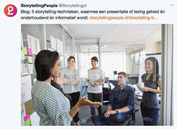 storytelling people twitter presentaties